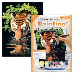 Paint by No. Junior 22,5cm x 30cm Thirsty Tiger