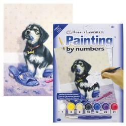 Paint by No. Junior 22,5cm x 30cm Bad puppy