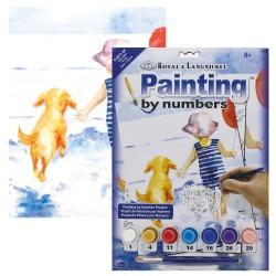 Paint by No. Junior 22,5cm x 30cm Splish Splash