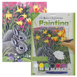 Paint by No. Junior 22,5cm x 30cm Spring Bunnies