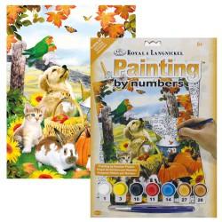 Paint by No. Junior 22,5cm x 30cm Autumn Festival