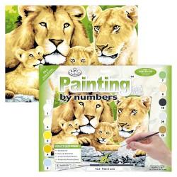 Paint by No. Junior 27,5cm x 35cm Pride of Lions