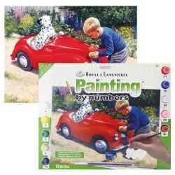 Paint by No. Junior 27,5cm x 35cm Spot's carwash