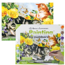 Paint by No. Junior 27,5cm x 35cm Kitten play