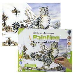 Paint by No. Junior 27,5cm x 35cm Alpine royalty
