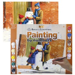 Paint by No. Senior 27,5cm x 35cm Snowman