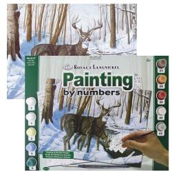 Paint by No. Senior 27,5cm x 35cm Winter bliss