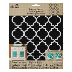 Stencil large 21cm x 23,50cm - Moroccan tile