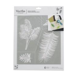 Silk Screen Stencil 23cm x 20cm - Palmtrees