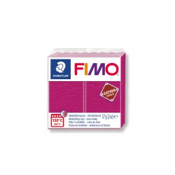 Fimo Leather effect 57g Berry