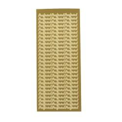 Sticker gold NL - Proficiat