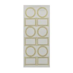 Sticker gold/transp - Frames