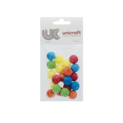 Ball 18mm - Assort. colors (20 pcs)