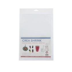 Crea Shrink A4 transparent - Clear (5 sheets)