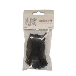 Elastic cord 3mm x 7m black
