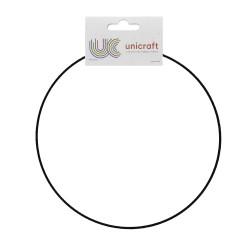 Ring metaal zwart Ø 30 cm