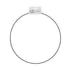 Ring metaal zwart Ø 35 cm