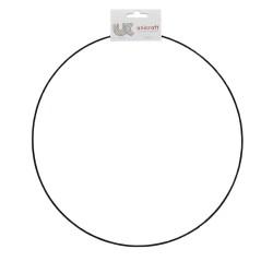Ring metaal zwart Ø 45 cm