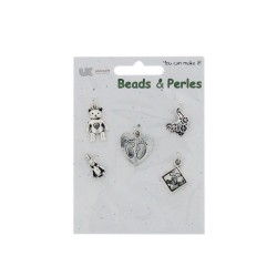 5 Charms silver - Baby