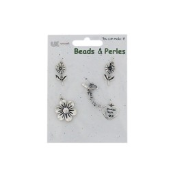 5 Charms silver - Special mum