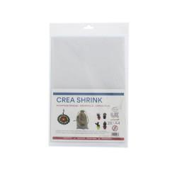Crea Shrink A4 transparent - Sanded (20 sheets)