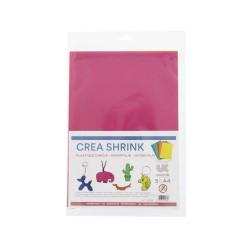 Crea Shrink A4 - Assort. 5 colors