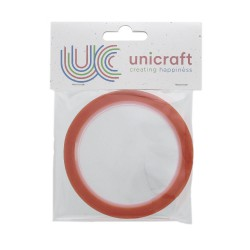 Unicraft Extra Sticky tape 10m x 6mm - Red