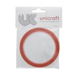 Unicraft Extra Sticky tape 10m x 6mm - Red