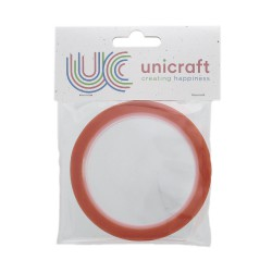 Unicraft Extra Sticky tape 10m x 9mm - Red