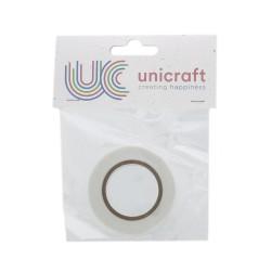 Unicraft Foam double sided Tape 2m x 12mm x 0,5mm - White