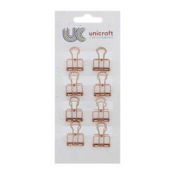 Decoration clips - Copper (8 pcs)