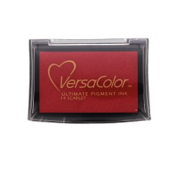 Pigment Stamp Pad 10 x 6cm Scarlet