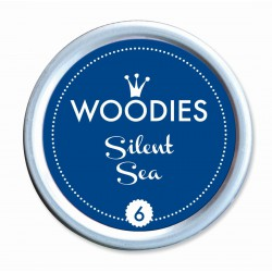 Ink pad Woodies 35mm x 35mm - Silent Sea