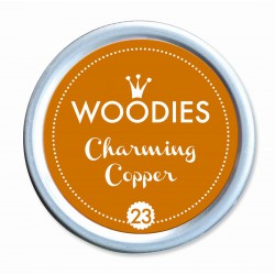 Ink pad Woodies 35mm x 35mm - Charming Copper