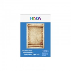 Parchement paper pad A4 brown (20 sheets)