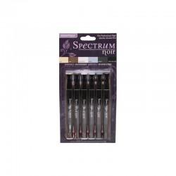 Spectrum Noir Markers Set - Essentials (6 pcs)