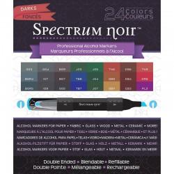 Spectrum noir markers - Darks (24 pcs)