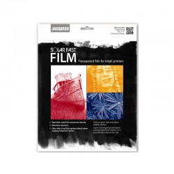 Solarfast - Transparent film for inkjet printers (8 sheets)