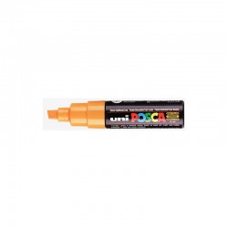 Posca marker PC8K Broad chisel tip - Orange