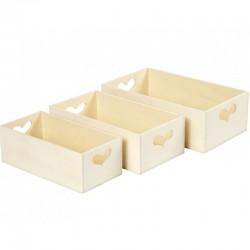 Storage Boxes (3 pcs)