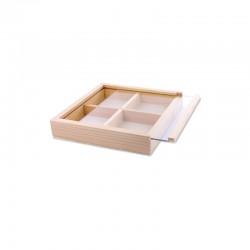 Bead box 13x13x2,5cm