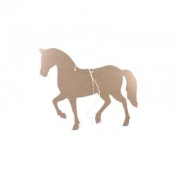 MDF wooden horse 240x200x5mm