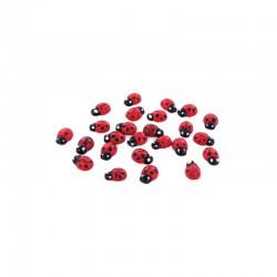 Small ladybirds 3D (25 pcs)