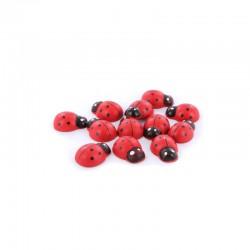Large ladybirds 3D (12 pcs)