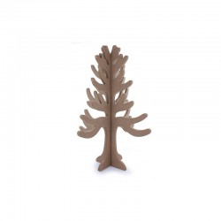 Wooden tree 28cm to assemble