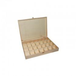 Large bead box 28 compart. 39cm x 29cm x 6cm