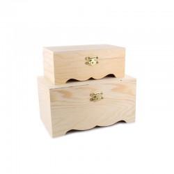 Set chests 17,5cm x 11cm x 9,5cm (2 pcs)