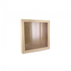 Deep frame 25cm x 25cm x 4cm