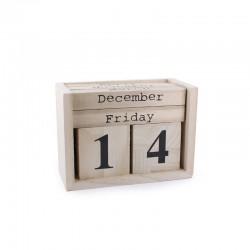 Cube calendar 14cm x 10cm
