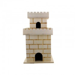 Mini Castel tower 11,8cm x 11,8cm x 20cm